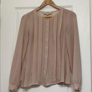 Ann Taylor loft button down blouse